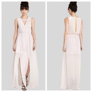 NWT BCBGeneration Lavender Chiffon Column Dress